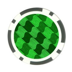 Fabric Textile Texture Surface Poker Chip Card Guard (10 Pack) by Nexatart