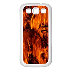 Fire Easter Easter Fire Flame Samsung Galaxy S3 Back Case (white)