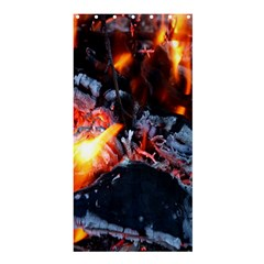 Fire Embers Flame Heat Flames Hot Shower Curtain 36  x 72  (Stall)