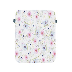 Floral Pattern Background  Apple Ipad 2/3/4 Protective Soft Cases by Nexatart