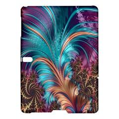 Feather Fractal Artistic Design Samsung Galaxy Tab S (10 5 ) Hardshell Case  by Nexatart