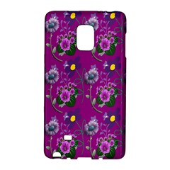 Flower Pattern Galaxy Note Edge by Nexatart