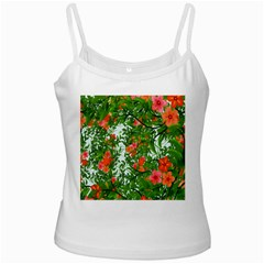 Flower Background Backdrop Pattern Ladies Camisoles by Nexatart