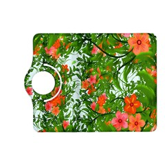Flower Background Backdrop Pattern Kindle Fire Hd (2013) Flip 360 Case by Nexatart
