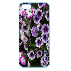 Flowers Blossom Bloom Plant Nature Apple Seamless Iphone 5 Case (color) by Nexatart