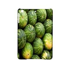Food Summer Pattern Green Watermelon Ipad Mini 2 Hardshell Cases by Nexatart
