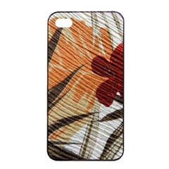 Fall Colors Apple Iphone 4/4s Seamless Case (black) by Nexatart