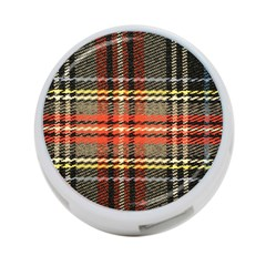 Fabric Texture Tartan Color 4 Port Usb Hub (two Sides)  by Nexatart