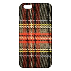 Fabric Texture Tartan Color Iphone 6 Plus/6s Plus Tpu Case by Nexatart