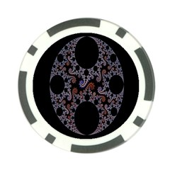 Fractal Complexity Geometric Poker Chip Card Guard (10 Pack) by Nexatart