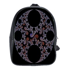 Fractal Complexity Geometric School Bags(large)  by Nexatart
