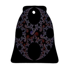 Fractal Complexity Geometric Bell Ornament (two Sides) by Nexatart