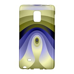 Fractal Eye Fantasy Digital Galaxy Note Edge by Nexatart