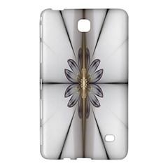 Fractal Fleur Elegance Flower Samsung Galaxy Tab 4 (8 ) Hardshell Case  by Nexatart