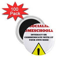 Warning 1 75  Magnets (100 Pack)  by athenastemple