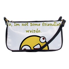 Weirdo Shoulder Clutch Bags by athenastemple