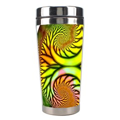 Fractals Ball About Abstract Stainless Steel Travel Tumblers by Nexatart