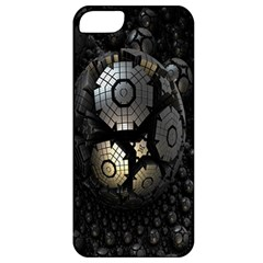 Fractal Sphere Steel 3d Structures Apple Iphone 5 Classic Hardshell Case by Nexatart