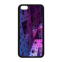 Fractals Geometry Graphic Apple Iphone 5c Seamless Case (black) by Nexatart