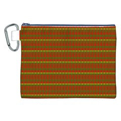 Fugly Christmas Xmas Pattern Canvas Cosmetic Bag (XXL) by Nexatart