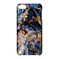 Frost Leaves Winter Park Morning Apple iPod Touch 5 Hardshell Case with Stand by Nexatart