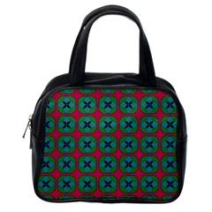 Geometric Patterns Classic Handbags (One Side) by Nexatart