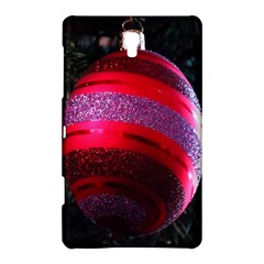 Glass Ball Decorated Beautiful Red Samsung Galaxy Tab S (8 4 ) Hardshell Case  by Nexatart