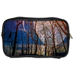 Full Moon Forest Night Darkness Toiletries Bags 2 Side