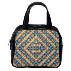 Modern Geometric Intricate Pattern Classic Handbags (one Side) by dflcprints