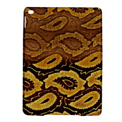 Golden Patterned Paper Ipad Air 2 Hardshell Cases