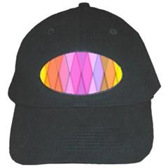 Graphics Colorful Color Wallpaper Black Cap by Nexatart
