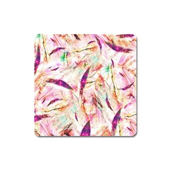 Grass Blades Square Magnet by Nexatart