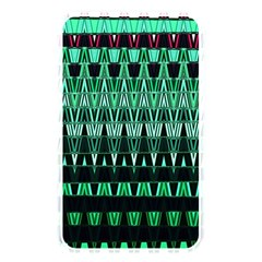 Green Triangle Patterns Memory Card Reader