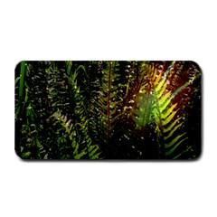 Green Leaves Psychedelic Paint Medium Bar Mats by Nexatart