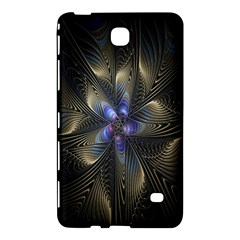 Fractal Blue Abstract Fractal Art Samsung Galaxy Tab 4 (8 ) Hardshell Case  by Nexatart