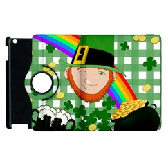 Lucky Irish Apple Ipad 2 Flip 360 Case by Valentinaart