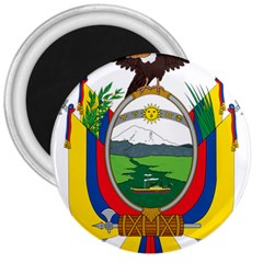 Coat Of Arms Of Ecuador 3  Magnets by abbeyz71