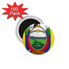 Coat Of Arms Of Ecuador 1 75  Magnets (100 Pack)  by abbeyz71