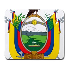 Coat Of Arms Of Ecuador Large Mousepads by abbeyz71