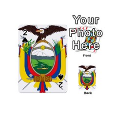 Coat Of Arms Of Ecuador Playing Cards 54 (mini)  by abbeyz71