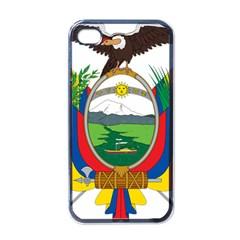 Coat Of Arms Of Ecuador Apple Iphone 4 Case (black) by abbeyz71