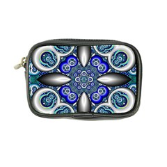 Fractal Cathedral Pattern Mosaic Coin Purse by Nexatart