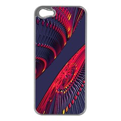 Fractal Fractal Art Digital Art Apple Iphone 5 Case (silver)