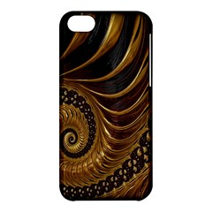 Fractal Spiral Endless Mathematics Apple Iphone 5c Hardshell Case by Nexatart