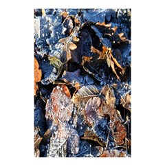 Frost Leaves Winter Park Morning Shower Curtain 48  X 72  (small)  by Nexatart