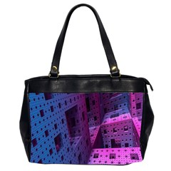 Fractals Geometry Graphic Office Handbags (2 Sides)  by Nexatart