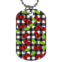 Cherry Kingdom  Dog Tag (two Sides) by Valentinaart