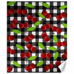 Cherry Kingdom  Canvas 8  X 10  by Valentinaart