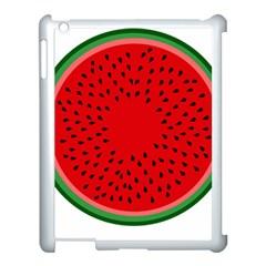 Watermelon Apple Ipad 3/4 Case (white) by Valentinaart