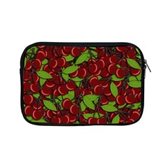 Cherry Pattern Apple Ipad Mini Zipper Cases by Valentinaart